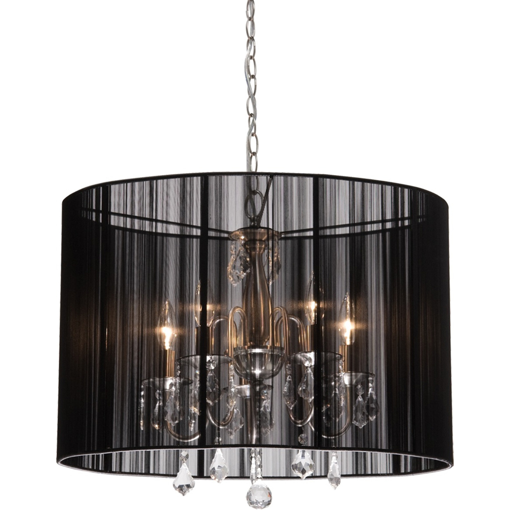 Dining Room Chandeliers With Fabric Shades Chandelier Online