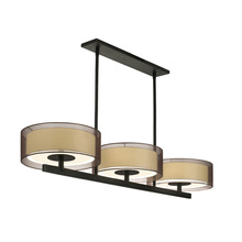 Sonneman 6001.51 - 3-Light Bar Pendant
