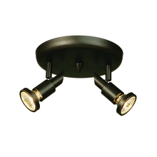 Artcraft AC5832OB - Shuttle 2 Light Oil Rubbed Bronze Track Light