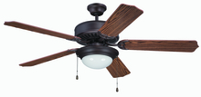 "Craftmade K11206 - 52"" Ceiling Fan with Light Kit and Blades Included"