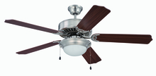 "Craftmade K11207 - 52"" Ceiling Fan with Light Kit and Blades Included"