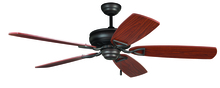 "Craftmade SUA56ABZ5 - Supreme Air 56"" Ceiling Fan with Blades in Aged Bronze Brushed"
