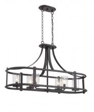 Designers Fountain 87538-APW - Palencia 6 Light Linear Chandelier