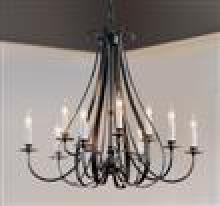 Hubbardton Forge 101469-SKT-03 - Sweeping Taper 9 Arm Chandelier
