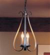 Hubbardton Forge 101473-SKT-08 - Sweeping Taper 3 Arm Chandelier