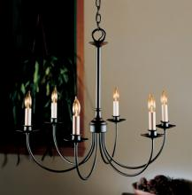 Hubbardton Forge 107060-SKT-07 - Simple Lines 6 Arm Chandelier