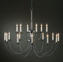 Hubbardton Forge 197144-SKT-10 - Simple Lines 18 Arm Chandelier