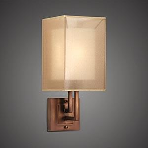 One Light Bronze Bathroom Sconce : SKU 62W9 | Greenvale Electric