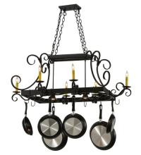 2nd Avenue Designs 871272.48.072U - Caiden 6LT Pot Rack