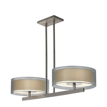Sonneman 6000.13 - 2-Light Bar Pendant