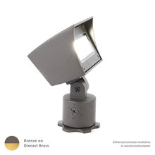 WAC US 5021-30BBR - LED LANDSCAPE FLOOD BRASS 12V 3000K