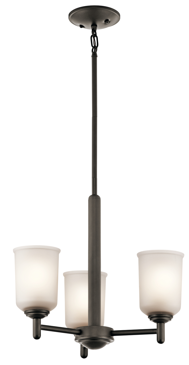 Greenvale Electric Supply in Greenvale, New York, United States, Kichler LQVT5, Mini Chandelier 3Lt, Shailene
