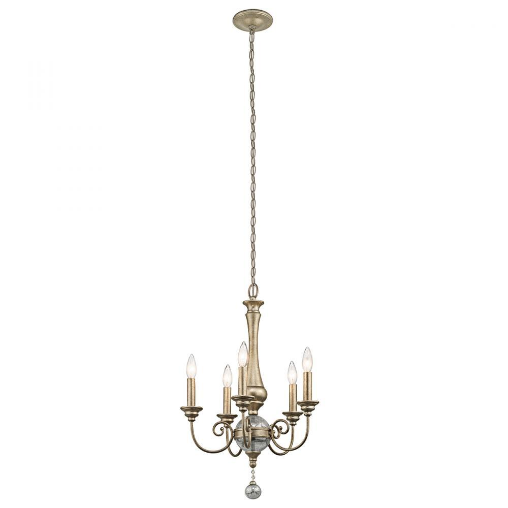 Greenvale Electric Supply in Greenvale, New York, United States, Kichler LR0NL, Mini Chandelier 5Lt, Rosalie