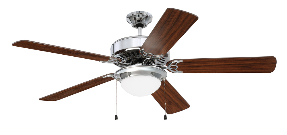 "Greenvale Electric Supply in Greenvale, New York, United States, Craftmade WC4A, Pro Energy Star 209 52"" Ceiling Fan in Chrome (Blades Sold Separately), Pro Energy Star 209"