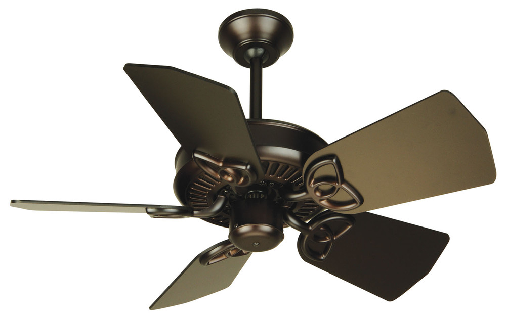 "Greenvale Electric Supply in Greenvale, New York, United States, Craftmade P5UV, Piccolo 30"" Ceiling Fan Kit in Oiled Bronze, Piccolo"