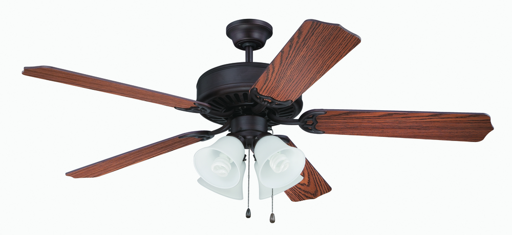 "Greenvale Electric Supply in Greenvale, New York, United States,  T6JM, Pro Builder 203 52"" Ceiling Fan Kit with Light Kit in Aged Bronze Brushed, Pro Builder 203"
