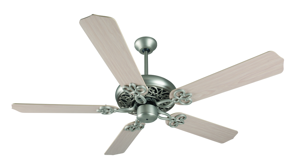 "Greenvale Electric Supply in Greenvale, New York, United States,  T7FJ, Cecilia 52"" Ceiling Fan Kit in Brushed Satin Nickel, Cecilia"