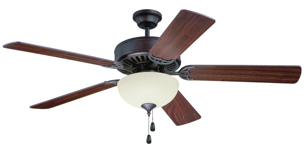 "Greenvale Electric Supply in Greenvale, New York, United States,  W39Q, Pro Builder 202 52"" Ceiling Fan Kit with Light Kit in Aged Bronze Brushed, Pro Builder 202"