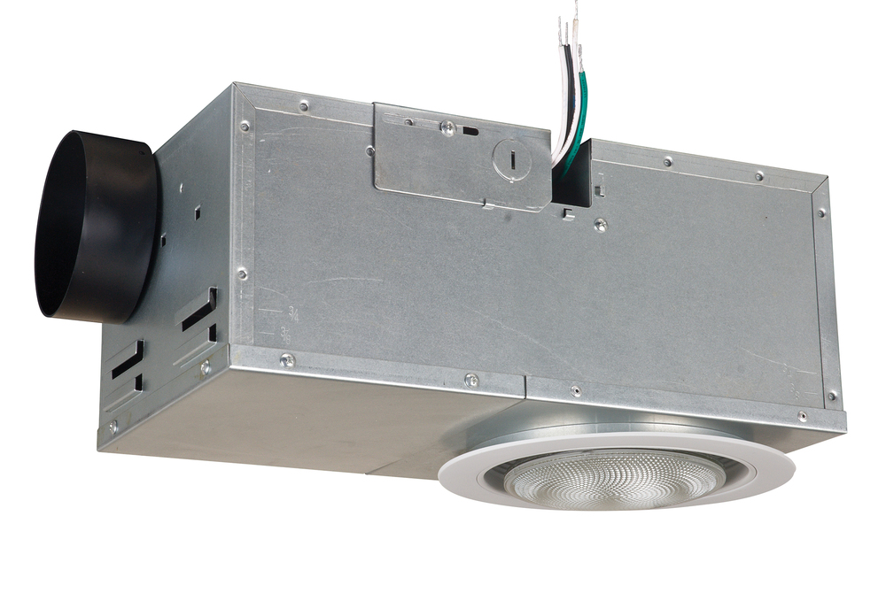 Greenvale Electric Supply in Greenvale, New York, United States, Craftmade T5H6, Recessed 70 CFM Ventilator/75W Light, Bath Exhaust Fan with Light