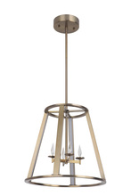 Craftmade 42434-SB-LED - Opus 4 Arm LED Foyer in Satin Brass