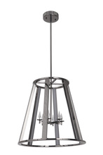 Craftmade 42436-BCH-LED - Opus 6 Arm LED Foyer in Black Chrome