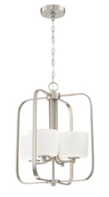 Craftmade 43534-BNK - Clarendon 4 Light Foyer in Brushed Polished Nickel