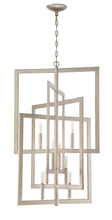 Craftmade 44938-GT - Portrait 8 Light Foyer in Gold Twilight