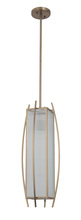 Craftmade 46031-BCP - Kodo 1 Light Medium Foyer in Brushed Copper
