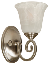 Craftmade 7105BN1 - Cecilia 1 Light Wall Sconce in Brushed Satin Nickel