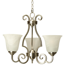 Craftmade 7120BN3 - Cecilia 3 Light Chandelier in Brushed Satin Nickel