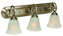Craftmade 7123BN3 - Cecilia 3 Light Vanity in Brushed Satin Nickel