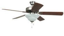 "Craftmade BLD52AN5C1 - Builder Deluxe with Bowl Light Kit 52"" Ceiling Fan with Blades and Light in Antique Nickel"