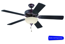 "Craftmade E208OB - Pro Builder 208 52"" Ceiling Fan with Light in Oiled Bronze (Blades Sold Separately)"
