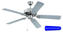 "Craftmade CXL52BN - CXL 52"" Ceiling Fan in Brushed Satin Nickel (Blades Sold Separately)"