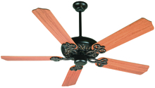 "Craftmade K10437 - Cecilia 52"" Ceiling Fan Kit in Oiled Bronze Gilded"