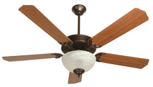 "Craftmade K10645 - Pro Builder 207 52"" Ceiling Fan Kit with Light Kit in Oiled Bronze"