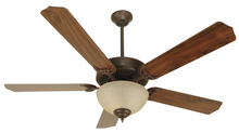 "Craftmade K10647 - Pro Builder 208 52"" Ceiling Fan Kit with Light Kit in Aged Bronze Textured"