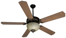 "Craftmade K10649 - Pro Builder 208 52"" Ceiling Fan Kit with Light Kit in Oiled Bronze"