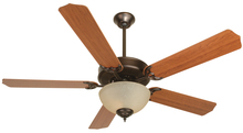 "Craftmade K10650 - Pro Builder 208 52"" Ceiling Fan Kit with Light Kit in Oiled Bronze"