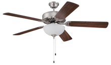 "Craftmade K11121 - Pro Builder 207 52"" Ceiling Fan Kit with Light Kit in Brushed Polished Nickel"