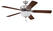 "Craftmade K11205 - Pro Builder 207 52"" Ceiling Fan Kit with Light Kit in Brushed Polished Nickel"