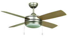 "Craftmade LAV44BP4LK - Laval 44"" Ceiling Fan with Blades and Light in Brushed Pewter"