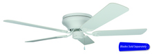 "Craftmade PFC52W - Pro Contemporary Flushmount 52"" Ceiling Fan in White (Blades Sold Separately)"