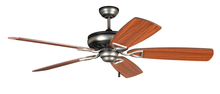 "Craftmade SUA56AND - Supreme Air 56"" Ceiling Fan in Antique Nickel Dark (Blades Sold Separately)"