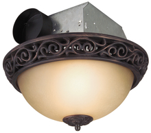 Craftmade TFV70L-AIORB - 70 CFM Decorative Exhaust Fan with Light - Oil Rubbed Bronze