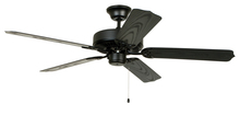 "Craftmade WOD52MBK5X - All-Weather 52"" Ceiling Fan with Blades in Matte Black"