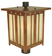 Craftmade Z3925-122 - Large Post Head - Teak