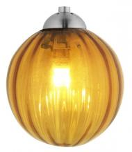 Oggetti Luce 18-187A - PERLE, LIGHT AMBER, SN, DOME