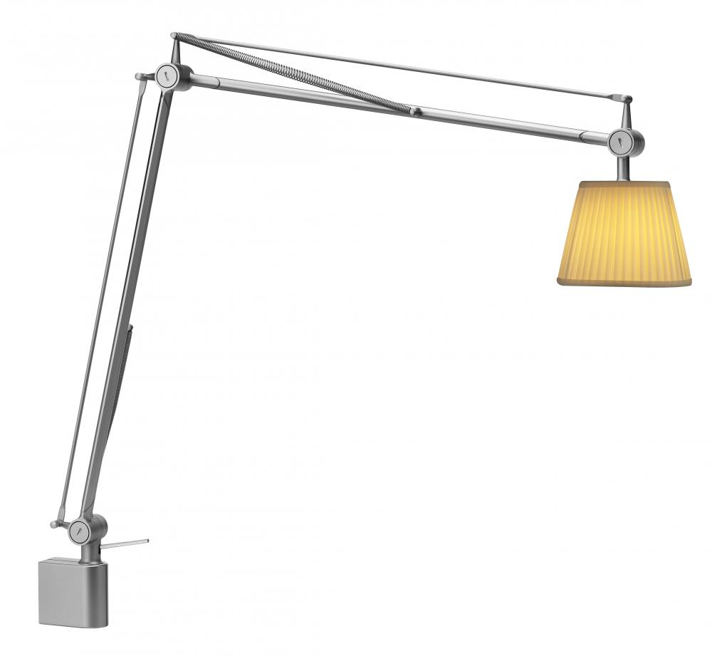 Greenvale Electric Supply in Greenvale, New York, United States, Flos USA, Inc 3YPPL, One Light Silver Desk Lamp,