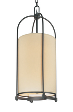 Troy F1808FBZ - REDMOND 4+4LT ENTRY CHANDELIER